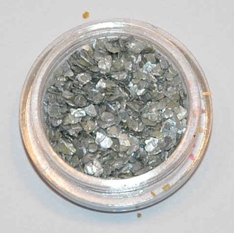 Crushed Shell silber